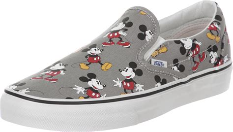 Vans Mickey Mouse vans classic slip on shoes mickey mouse