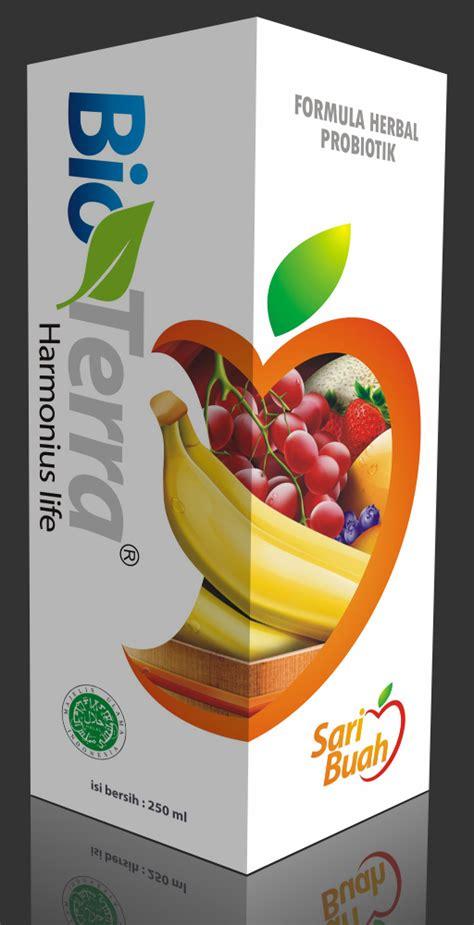 Bioterra Sari Buah Probiotik Berkualitas rasyidah herbal alami islami produk