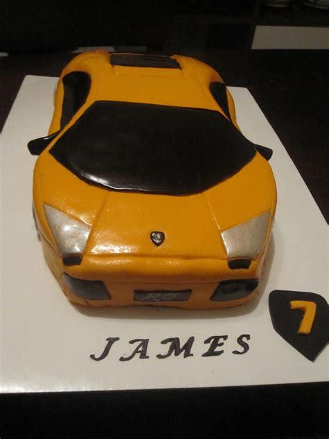 lamborghini cake lamborghini birthday cake cakecentral