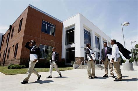 College Next Door this is the soulsville charter school our academic college prep school next door to the stax