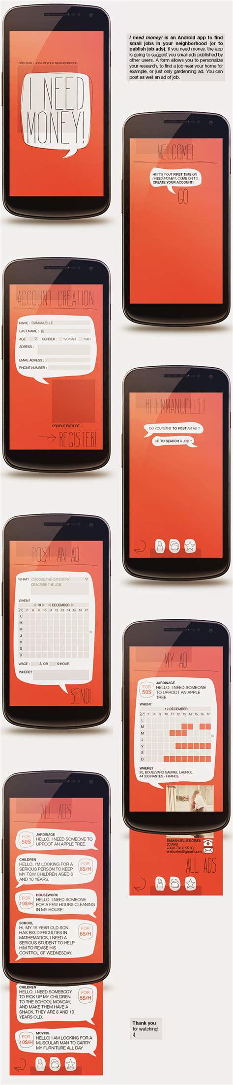 designspiration android best app designs money android images on designspiration