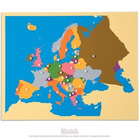 L Puzzle by Carte Puzzle De L Europe Montessori Spirit