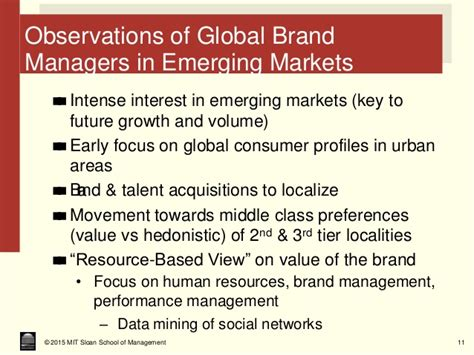 Mba From Middle Tier With Scholarship Vs Top Tier by Emerging Markets Global Brands