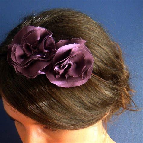 Handmade Headbands - handmade headbands plum by milkmoneyshop on deviantart