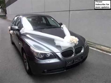 wedding car ribbon how to tie wedding car decoration bmw pictures of car decor