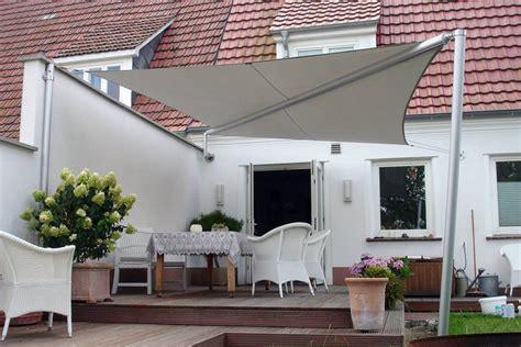 terrassen sonnensegel sonnensegel terrasse sonnenschutz sonnensegel als
