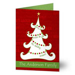 11968 tree personalized cards
