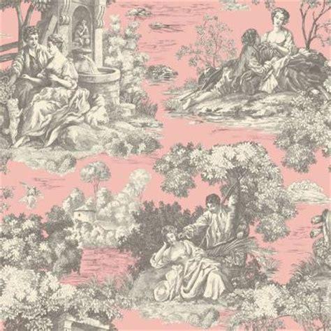 pink wallpaper home depot the wallpaper company 56 sq ft pink pastel romantic