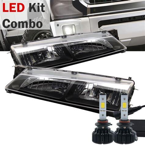nissan s14 headlights led kit 97 98 nissan 240sx s14 jdm style black
