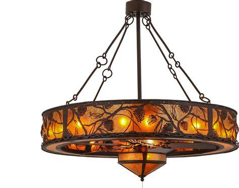 meyda tiffany ceiling fans meyda tiffany 156539 whispering pines country cafe noir