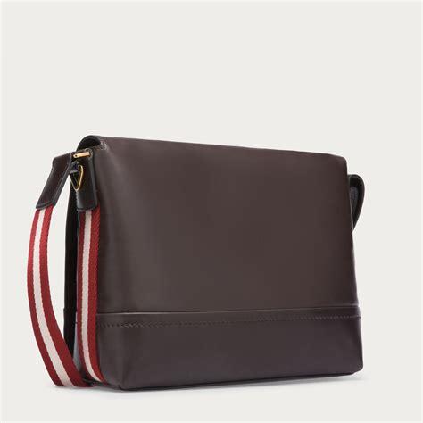 Bally Bag 01 Sekat 2 bally tamrac s leather messenger bag in chocolate in