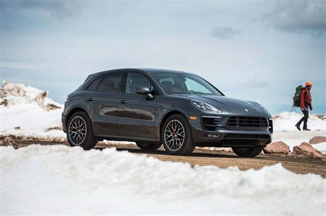2017 porsche macan base climbing pikes peak in the 2017 porsche macan gts