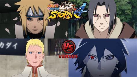 boruto bertemu minato minato edo tensei y naruto rtb vs itachi edo tensei y