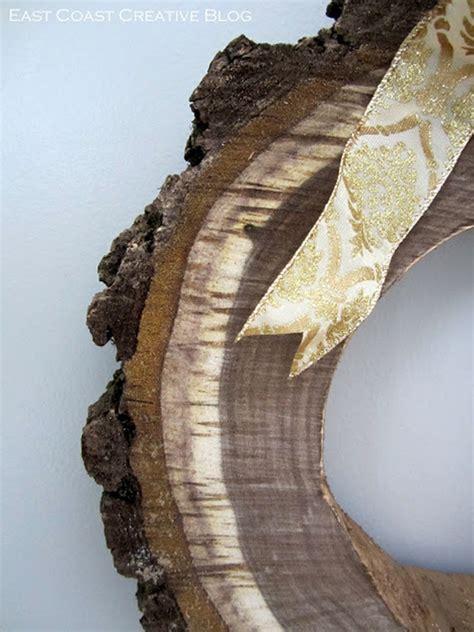 diy section diy wood cross section decor ideas