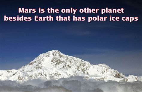 earth the biography ice facts interesting facts about mars did you know science