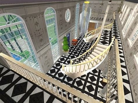 sims 4 foyer mod the sims 1200 dynasty road willshire mansion
