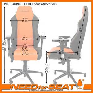 Computer Desk Chair Dimensions Needforseat Usa Maxnomic 174 Computer Office Gaming Chair