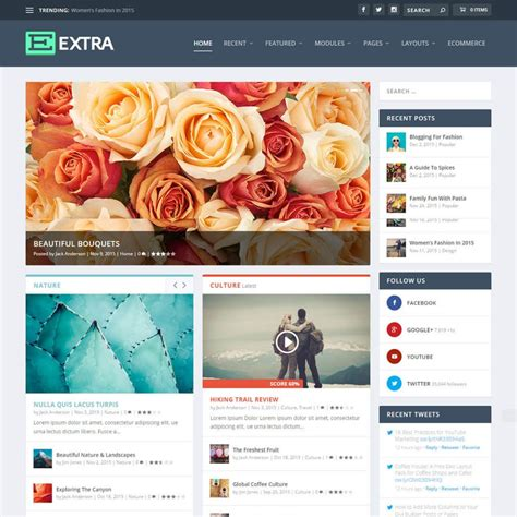 theme x blog exle 10 best responsive wordpress news magazine themes 2018