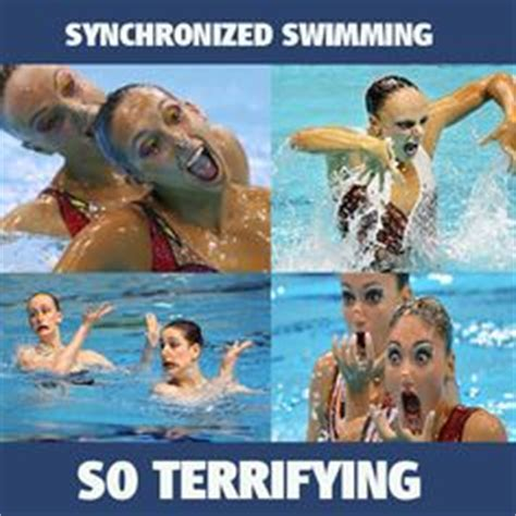 Synchronized Swimming Meme - synchro funny weird on pinterest synchronized swimming