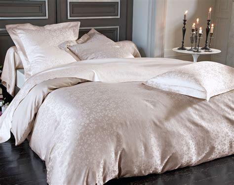 linge de lit satin linge de lit satin de coton motif fleurettes becquet