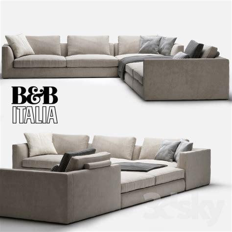 B B Sofa by 3d Models Sofa B B Italia Richard