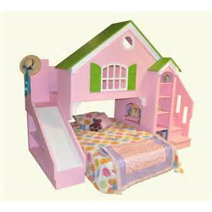 Unstained wooden bunk beds for boys with stairs using white bed linen