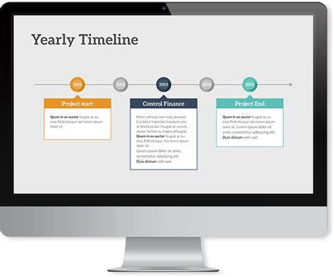 Timeline Keynote Template Improve Presentation High Level Timeline Template