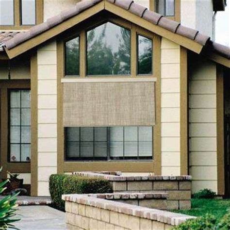 outdoor shades blinds window treatments the home depot