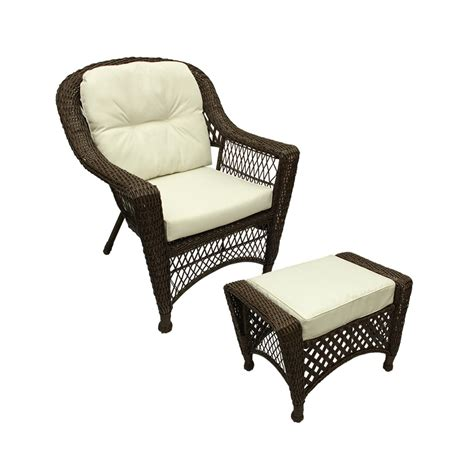 wicker chair and ottoman wicker chair and ottoman cushions chairs seating