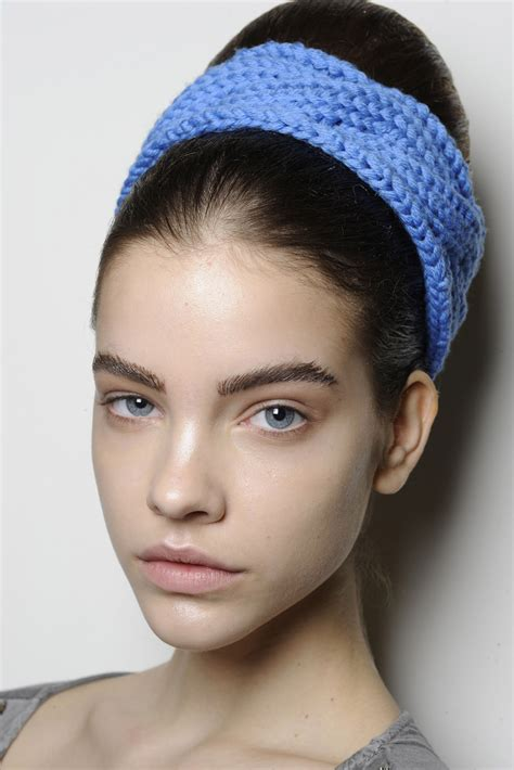 brows knitted barbara palvin