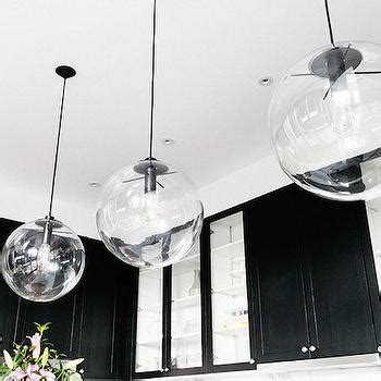 Clear glass globe pendant lights design decor photos pictures ideas inspiration paint