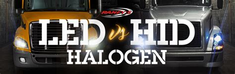 Lu Motor Led Vs Hid led vs hid vs halogen light guide raney s truck parts