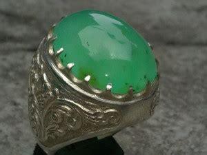 Batu Cincin Akik Jamal berbagai manfaat dan khasiat batu akik giok hijau