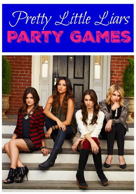 google themes pretty little liars 5 pretty little liars party games that are so much fun
