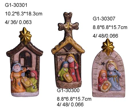 christian nativity sets images