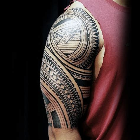 samoan full sleeve tattoo designs 90 designs for tribal ink ideas