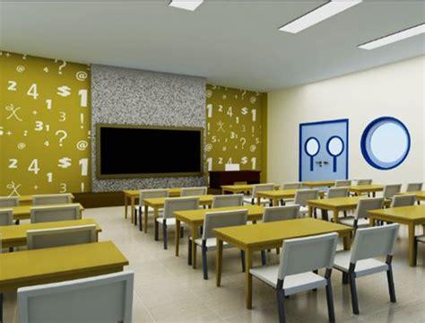 gambar denah ruang kelas sekolah 9 contoh dekorasi ruang kelas yang unik dan mewah desain