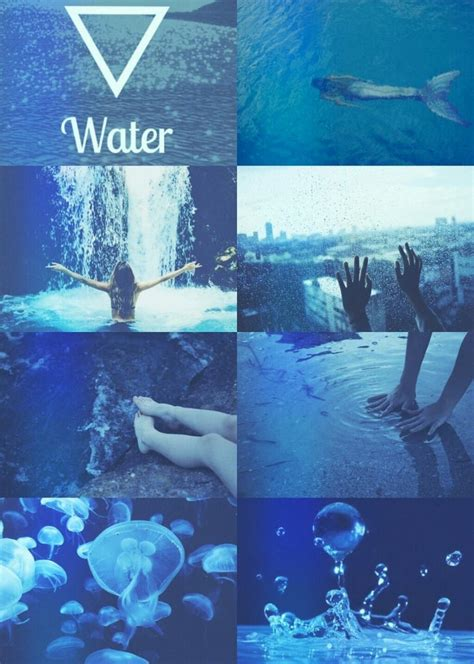elements water magic aesthetic witch aesthetic