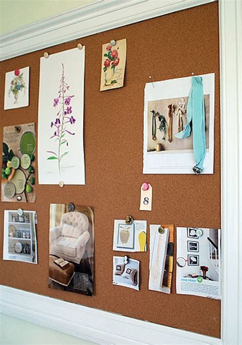 bulletin boards for rooms how to make a framed bulletin board diy cork board ideas for bedroom room decor