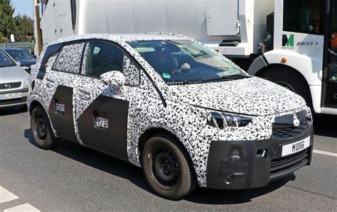 opel meriva 2017 2017 opel meriva first interior spy photos autoevolution