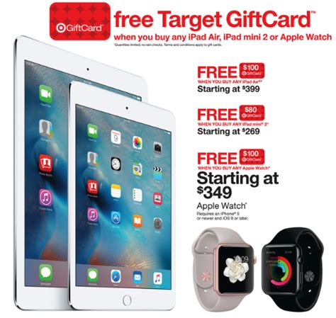 Target 200 Gift Card Iphone - best black friday ipad pro and apple watch deals iphonelife com