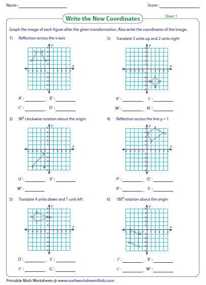 printable math worksheets reflections math reflections worksheets switchconf math best free