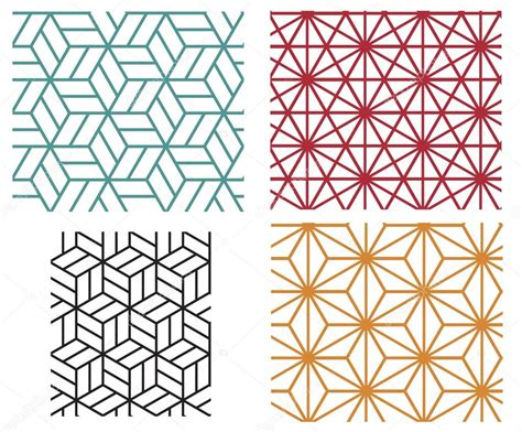 svg pattern style geometric line style vector patterns stock vector