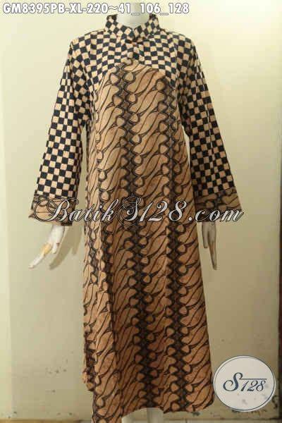 model baju batik gamis  istimewa pakaian batik solo