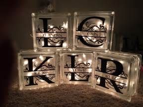 Homemade Personalized Christmas Ornaments - diy decorative glass blocks diy and crafting