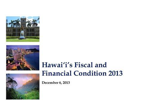 jurisprudencia fiscal diciembre 2013 hawaii fiscal and financial condition 2013