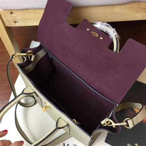 Handbag Balisi 3619 Leather 2017 new mulberry small new bayswater bag dune grain leather 3619 dune 230 00