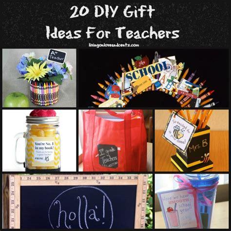 Gift Ideas For Teachers - easy crafts 20 diy gift ideas for teachers