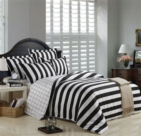 black stripe comforter 1000 ideas about striped bedding on pinterest cotton