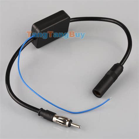 car antenna radio am fm signal reception lifier booster 12v ebay